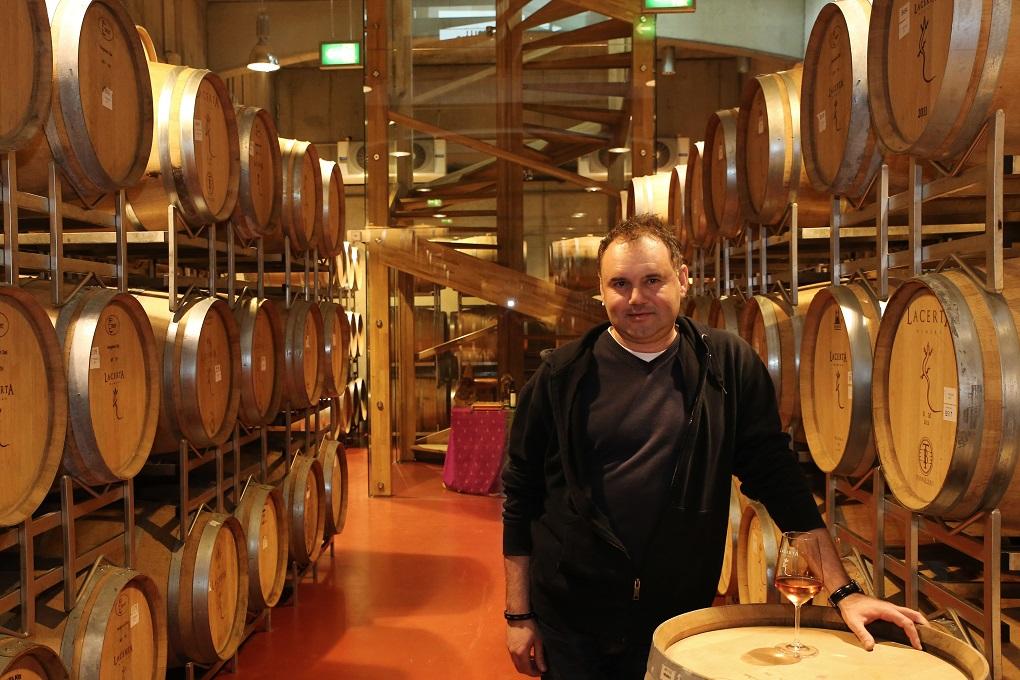 Mihai Banita Vinificator Lacerta Winery