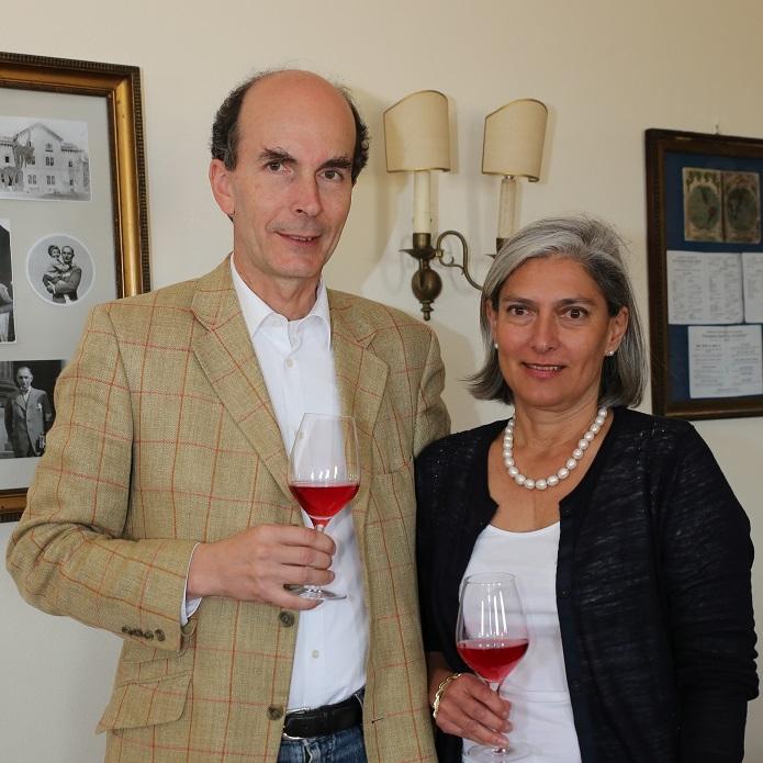 Ileana si Jakob Kripp, Crama Stirbey