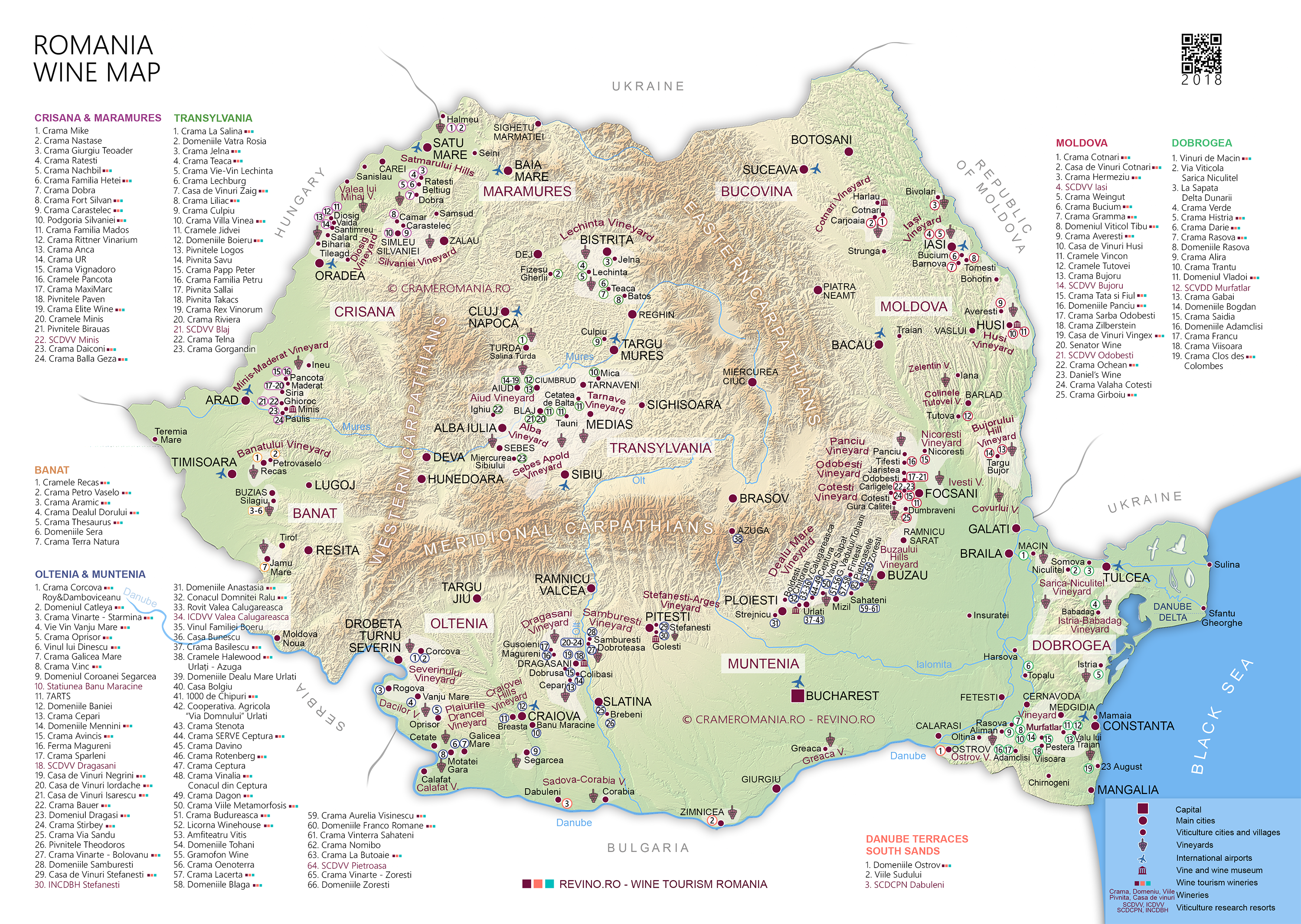 Romanian Wineries Romanian Wines The Wines Of Romania - Where is romania on a map