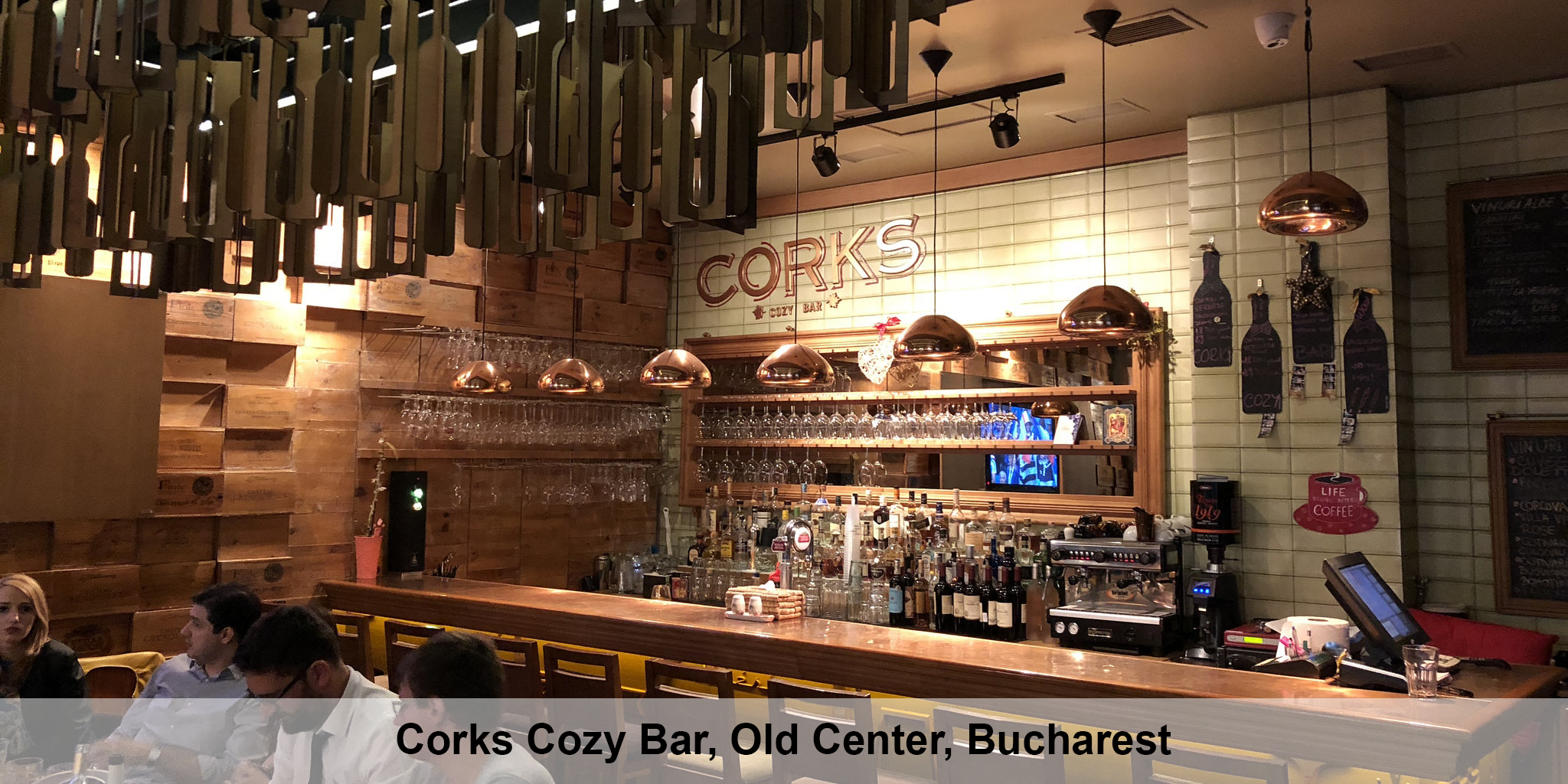 Corks Cozy Bar Bucharest
