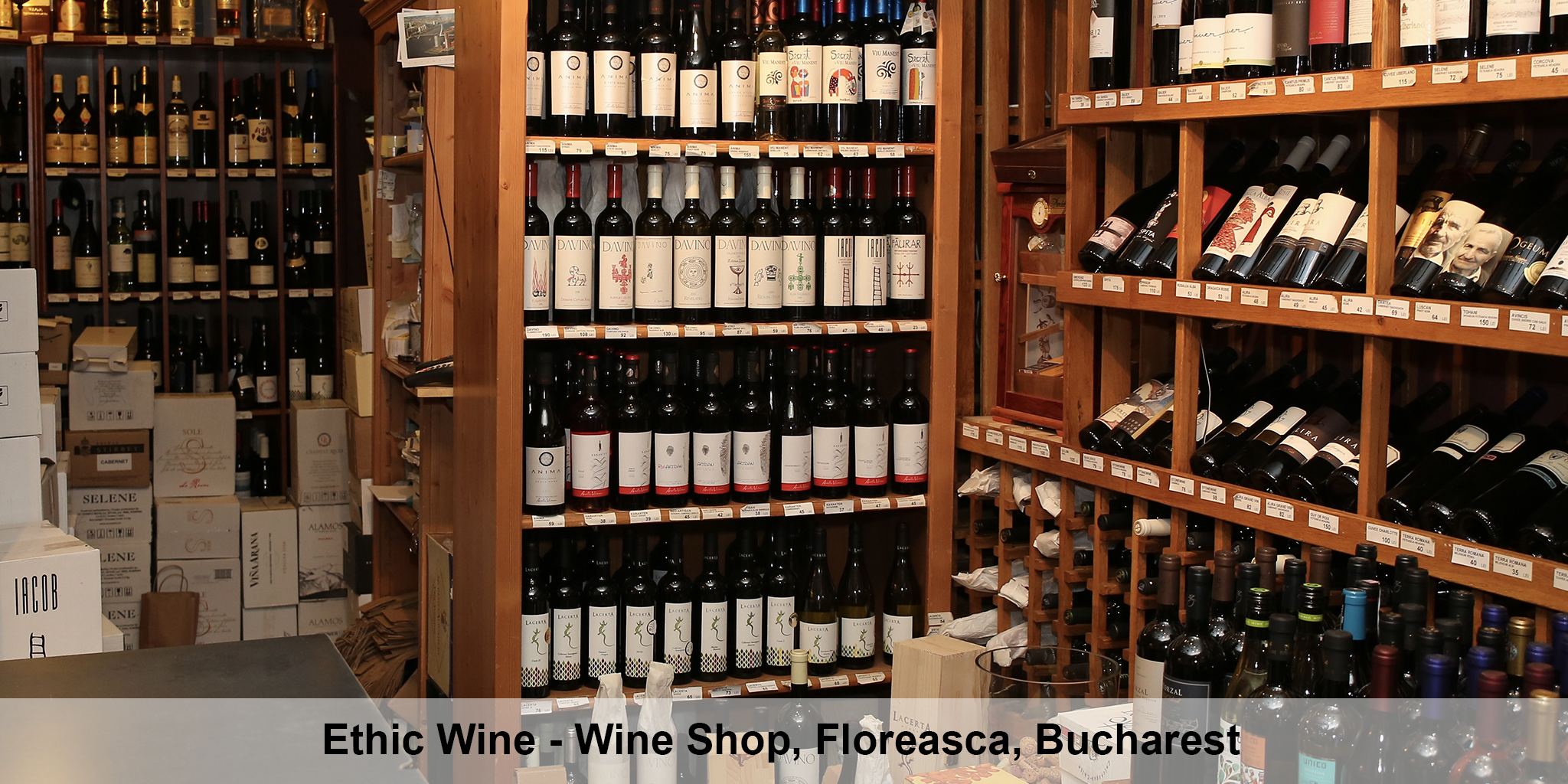 Ethic Wine Shop Bucharest